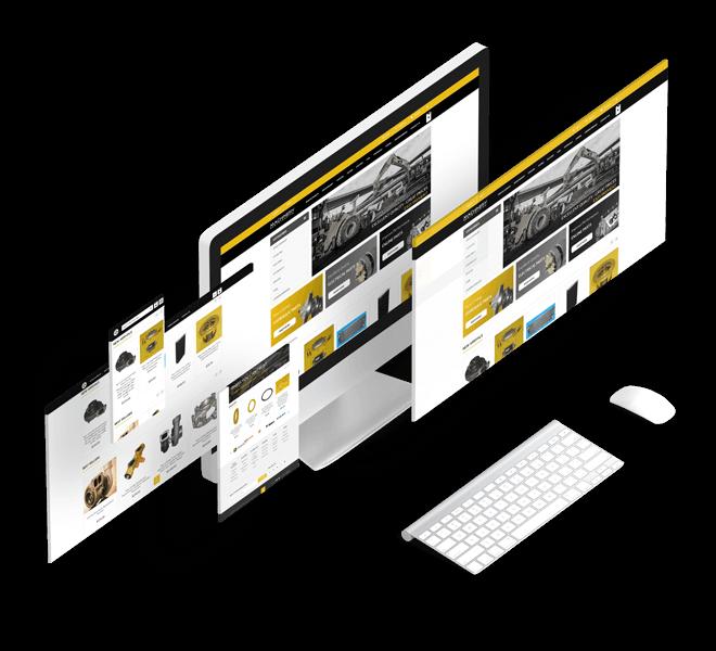 diseño web ecommerce magento